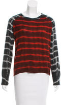 Raquel Allegra Tie-Dye Wool Sweater