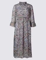 Marks and Spencer Paisley Print Fit & Flare Dress