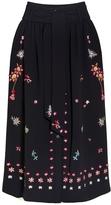 Temperley London Juniper Embroidered Skirt