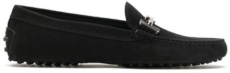 Tod's Hardware Embellished Almond Toe Loafers