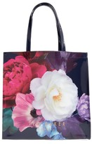 Ted Baker Blushing Bouquet Large Icon Tote - Blue