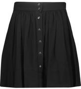 IRO Elia Pleated Cady Mini Skirt
