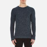Selected Men's New Vince Bubble Crew Neck Sweatshirt