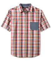 Sean John Shirt Big and Tall, Slub Check Shirt