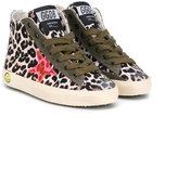 Golden Goose Deluxe Brand Kids - Francy sneakers - kids - Cotton/Leather/Canvas/rubber - 23