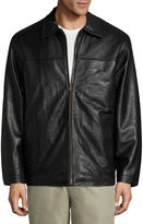 VINTAGE LEATHER Vintage Leather Lambskn Bmbr Jkt Leather Car Coat