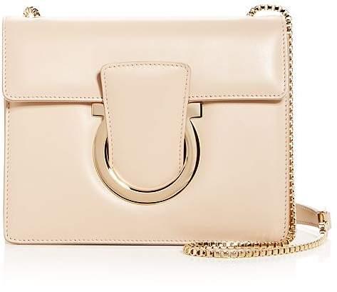 Salvatore Ferragamo Thalia Small Leather Convertible Shoulder Bag