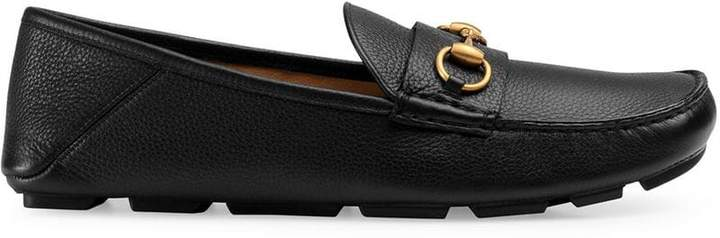 Gucci Leather driver with Horsebit