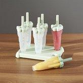 Crate & Barrel Rocket Ice Pop Molds Set of Six