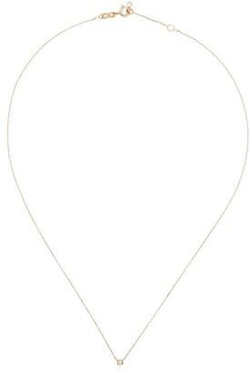Gigi Clozeau 18kt Rose Gold Diamond Detail Necklace