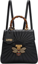 Gucci Black Queen Margaret Quilted Backpack