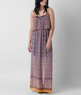 As U Wish Printed Maxi Dress