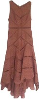 Zimmermann Pink Lace Dress for Women