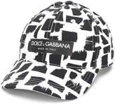 Dolce & Gabbana paint stroke baseball cap