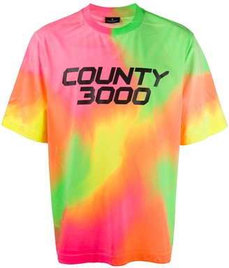 Marcelo Burlon County of Milan County 3000 print T-shirt