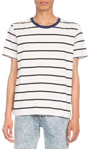 Maison Margiela Striped Crewneck T-Shirt