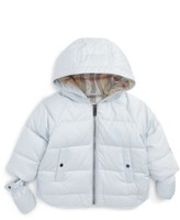 Burberry Infant Boy's Rilla Hooded Down Jacket