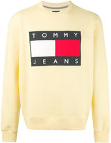 Tommy Jeans logo patch sweatshirt - men - Cotton/Polyester - M
