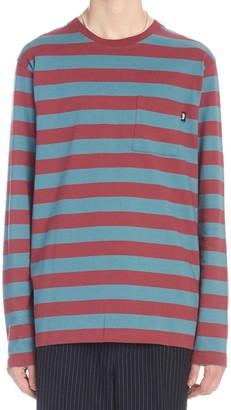 Stussy Contrasting Stripes Long-Sleeve Shirt