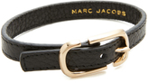 Marc Jacobs Icon Buckle Leather Bracelet