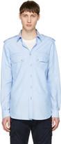 Pierre Balmain Blue Button-down Shirt