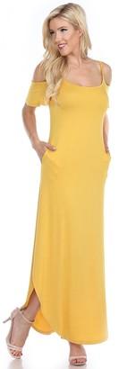 White Mark Women's Lexi Maxi Dress