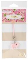"Webster Charm Embellishment Pink Piggy-Multicolor 6""x3"""