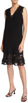 Kobi Halperin Donna Lace-Trim Shift Dress