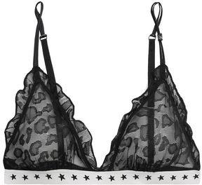 LOVE Stories Reggipetto Ruffle-trimmed Lace Triangle Bra