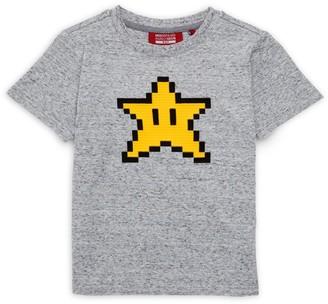 Mostly Heard Rarely Seen 8 Bit Little Boy's & Boy's Power Star Tee