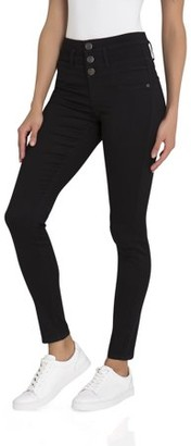 No Boundaries Juniors' Super Soft Triple Stack Jeans