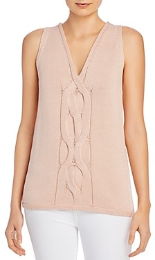 Lafayette 148 New York Cable-Knit Tank