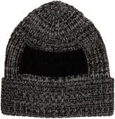 Oamc Ribbed mohair-insert beanie hat