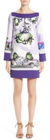 Versace Women's Floral Print Shift Dress