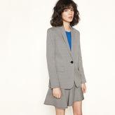 Maje Checked tailored jacket