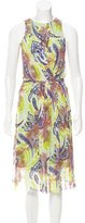 Etro Paisley Printed Midi Dress