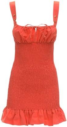 Ciao Lucia Cara Cotton Poplin Mini Dress