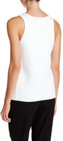 DKNY Sleeveless Bonded Scoop Tank Top