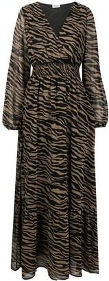 Liu Jo Zebra-Print Stud-Embellished Dress