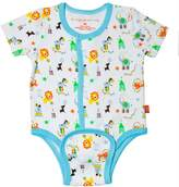Magnificent Baby Boy's Circus Short Sleeve Burrito Plus Pants Set