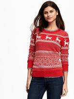 Old Navy Reindeer-Graphic Sweater for Women