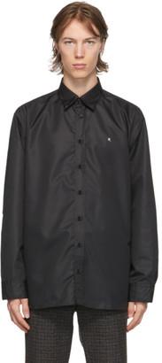 Raf Simons Black Hooded R Shirt