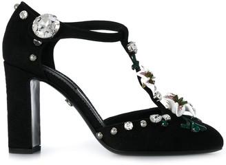 Dolce & Gabbana Embellished High Heel Pumps