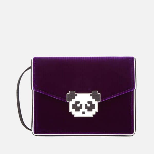 Les Petits Joueurs Women's Lulu Panda Bag - Purple