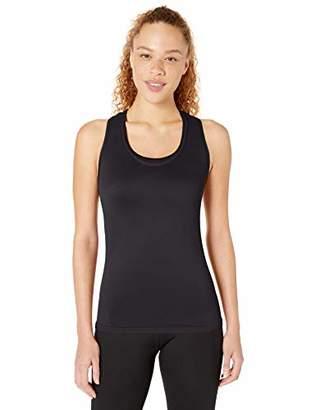 Core 10 Seamless Mesh Workout Racerback Tank Yoga Shirt,S (4-6)