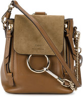 Chloé Mini Faye backpack - women - Leather/Suede - One Size