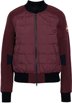 Canada Goose Hanley Quilted Shell Down Bomber Jacket