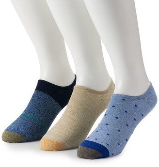 Gold Toe Men's GOLDTOE 3-pack Oxford Liner Socks