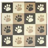 Tadpoles TadpolesTM by Sleeping Partners Paw Print Play Mat in Taupe/Brown