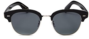 Oliver Peoples Men's Gary Cooper Polarized Square Sunglasses, 52mm